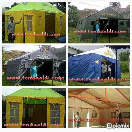 Tenda Bantuan, Bencana, Posko ,Pleton ,Pengungsi 1