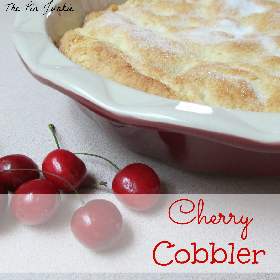 peach dumplings with sweet cherry sauce fresh cherry cobbler cherry ...