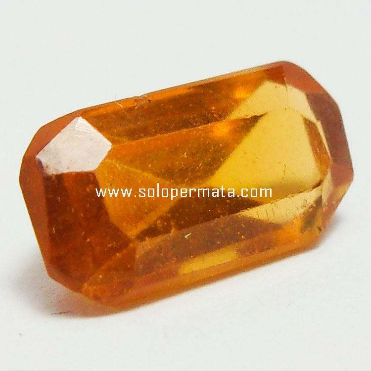 Batu Permata Hessonite Garnet - 29A01