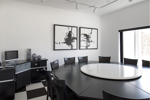 Three famous ceramic tile pattern in black and white for Famous black interior designers