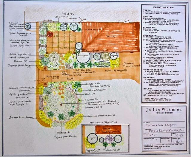 Julie Witmer Garden Design Depew Japanese Inspired Front Garden