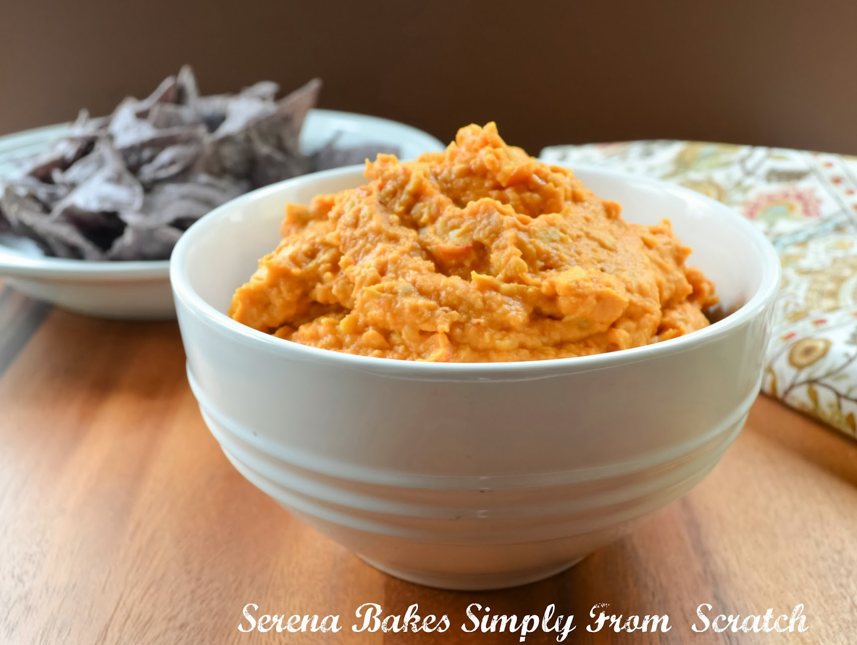 Chipotle Artichoke Hummus | Serena Bakes Simply From Scratch