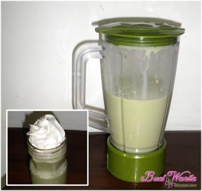 Cara Buat Ice Blend Matcha Green Tea Sedap. Resepi Ais Blend Teh Hijau Latte Best.