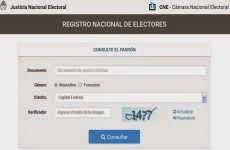 Padrón Electoral online para saber donde votar en las elecciones nacionales del 25 de octubre de 2015