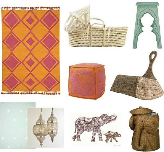 bazaar bohemian nursery