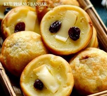 Resep Kue Pisang Keju Khas Banjar (Banjarmasin)