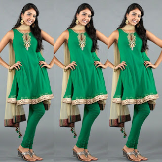 Green Choridar Dress