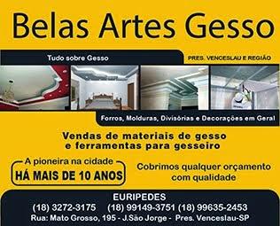 Belas Artes Gesso