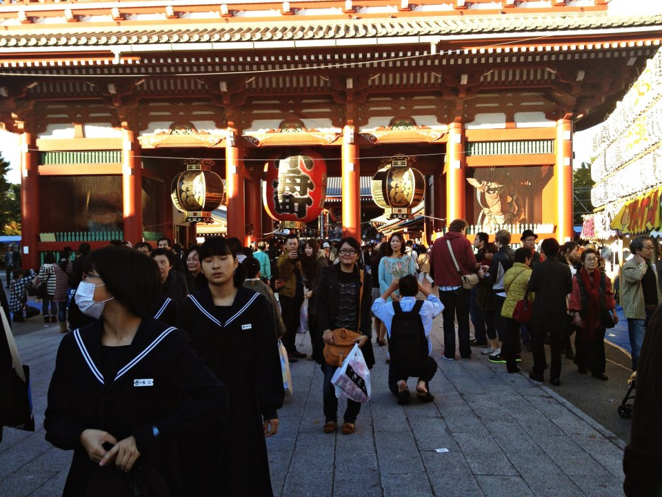 November, 2012: 14 days in Tokyo (1st Trip)