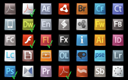 all adobe products