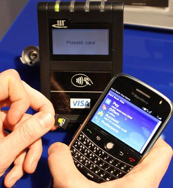 تقنية NFC  للجوال  NFC