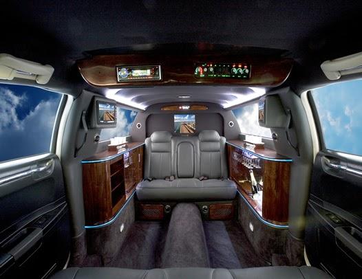 Pullman Bath Light: Mercedes-Benz S550 Pullman Limousine S-Class Review And