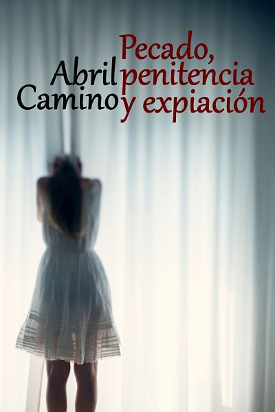 Portada de la novela romántica contemporánea Pecado, penitencia y expiación
