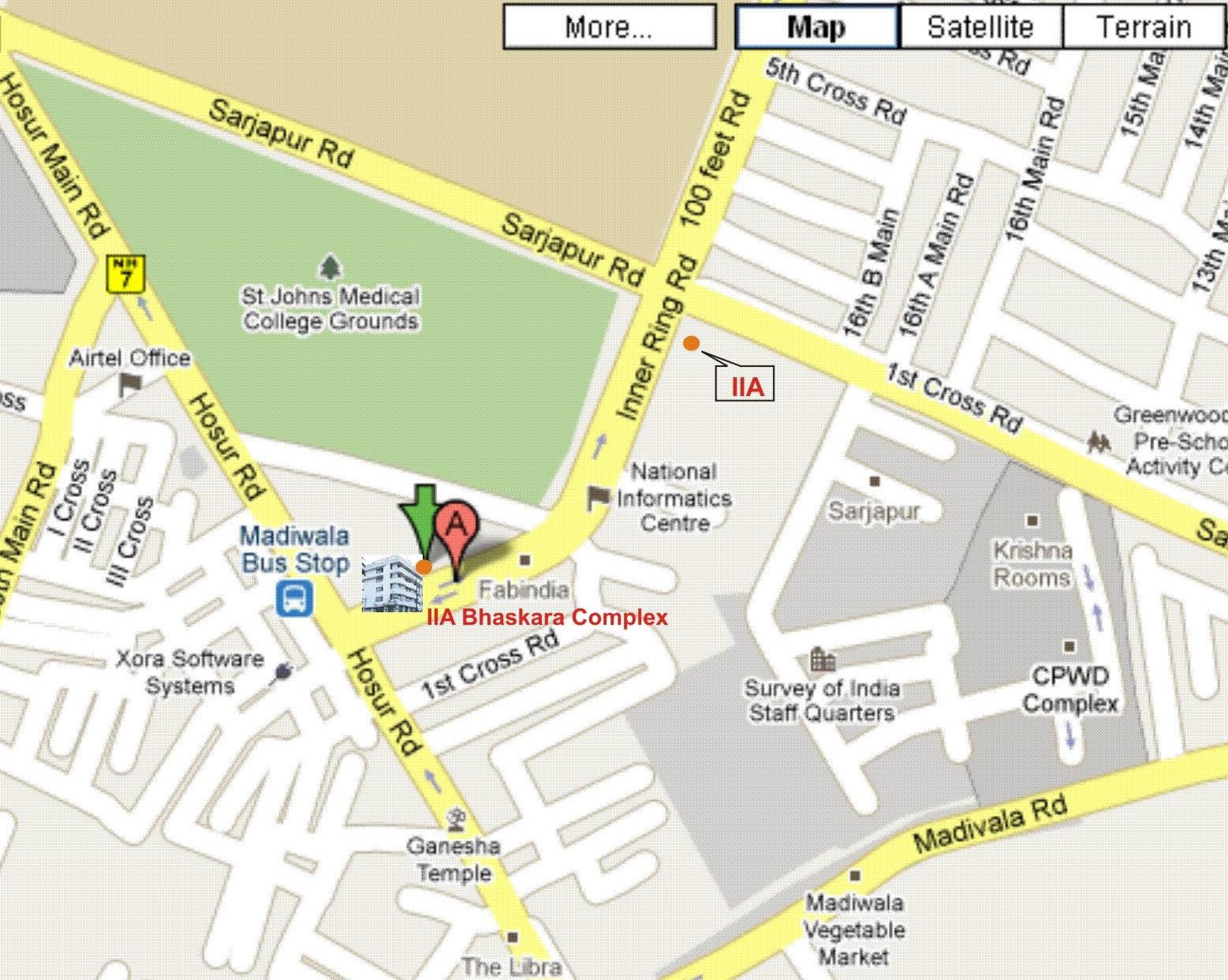google com map: