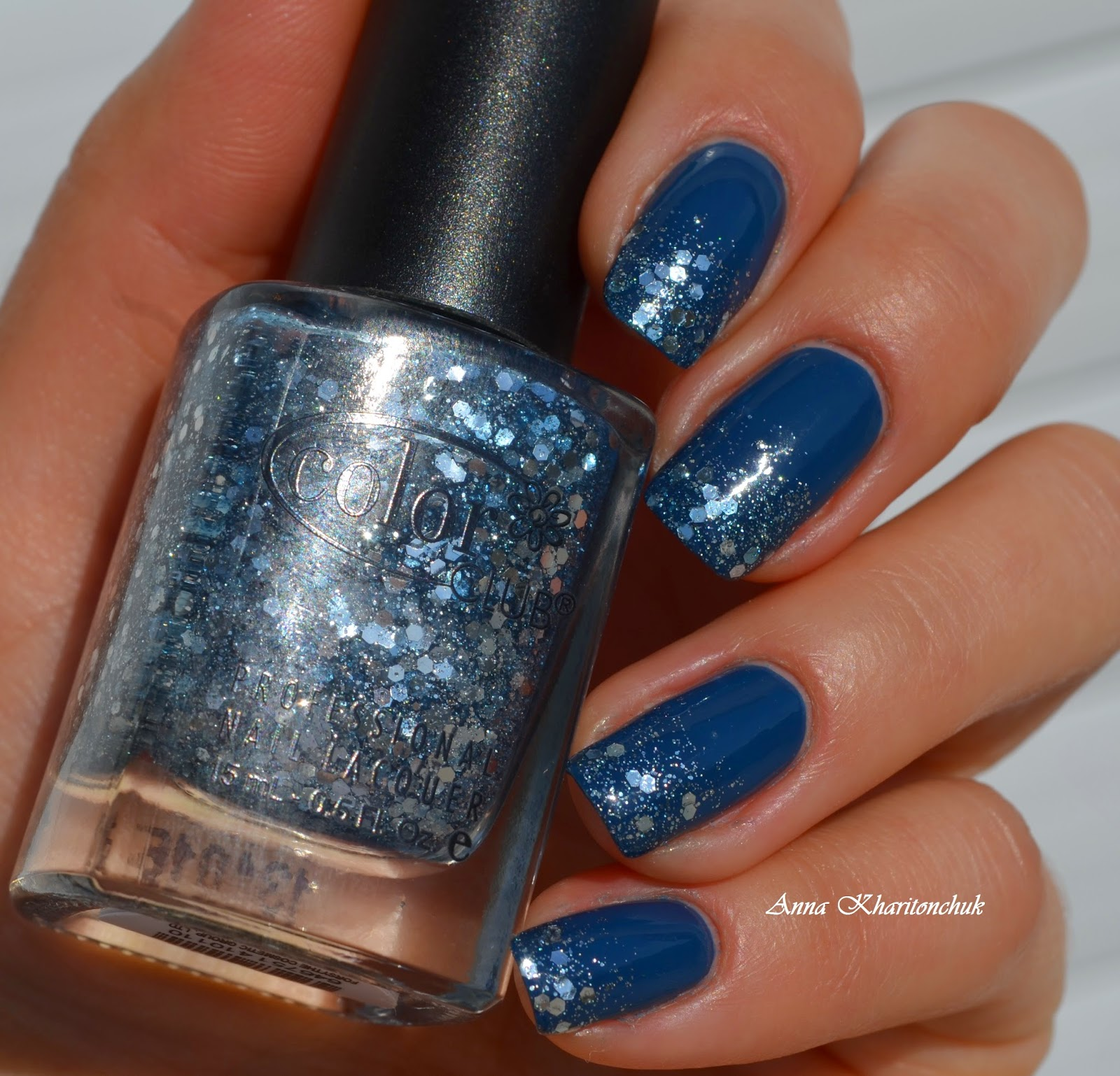 Color Club Baldwin Blues 1009 и Color Club Savoy Nights 1011
