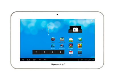 SpeedUp Pad Slim S5, Tablet ICS Murah Dengan Aplikasi Melimpah