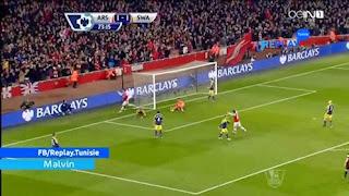 Arsenal 2-2 Swansea