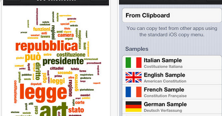 6 Great Apps to Create Word Clouds on your iPad