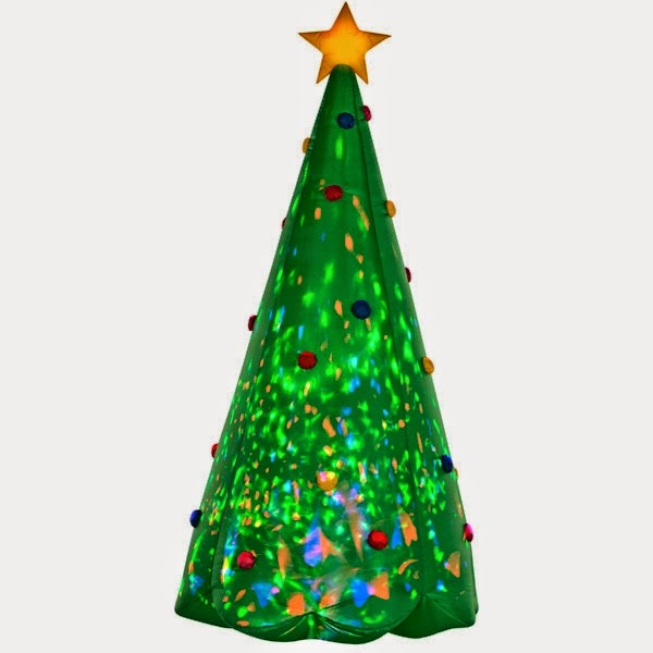 Enter the KALEIDOSCOPE Green Christmas Tree Inflatable Giveaway. Ends 11/27.