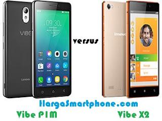 Harga dan Perbedaan Lenovo Vibe P1m dengan Vibe X2