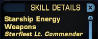 Star Trek Online - Skill Name Rank