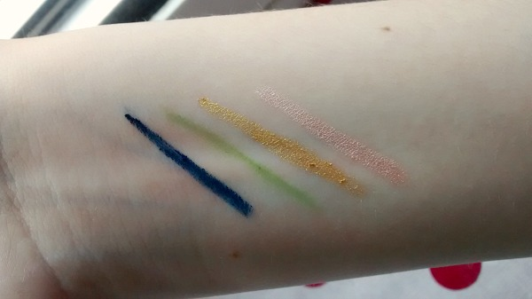 Colourful Drugstore Eyeliners