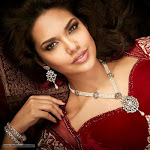 Esha Gupta D Damas Jewellery Photoshoot