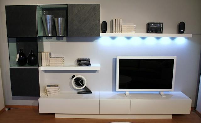 Stone TV Cabinet
