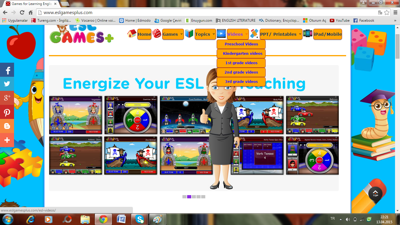 Kids ESL Games  Free Online ESL Games Worksheets and ESL