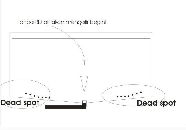 desain kolam dan filter sederhana