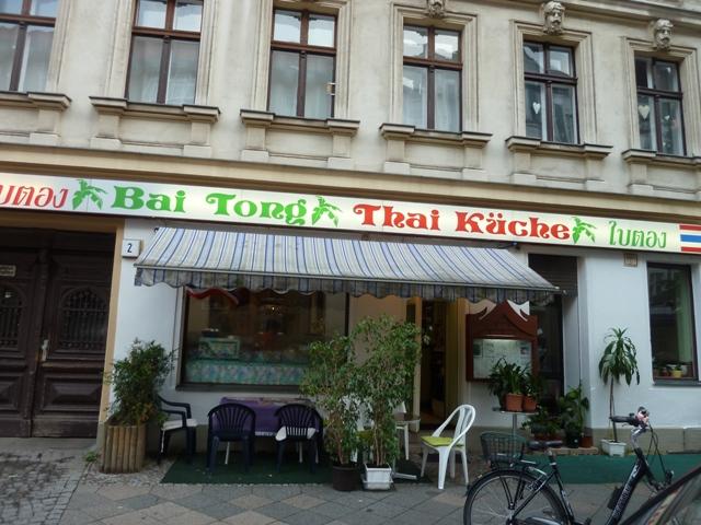 Spaces and Spices: Gut essen in Berlin: Das Thai-Restaurant Bai Tong ...