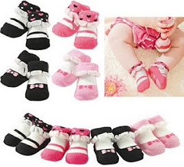 SUKIE BABY SOX with anti slip