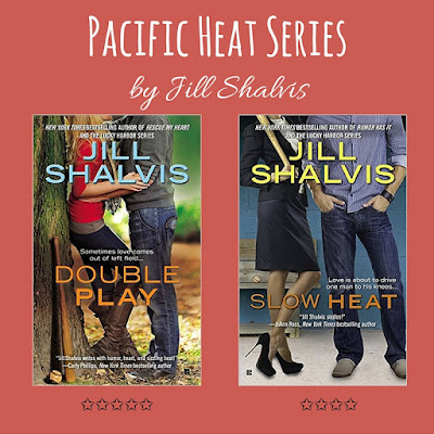 jill shalvis, pacific heat, double play, slow heat, book reviews