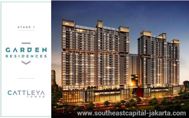 Southeast Capital Jakarta Apartment Garden Residences - Cattleya Tower