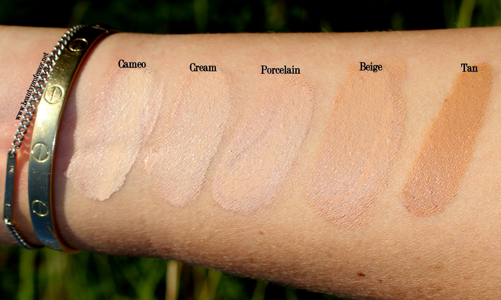 zelens age control foundation swatches
