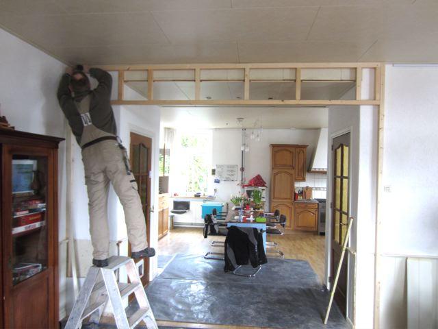 Wonen in aandacht schuifdeuren - Keuken en woonkamer in dezelfde kamer ...