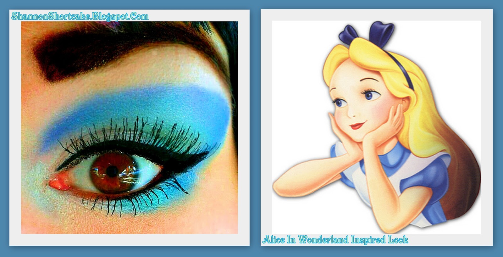 shannon shortcake (makeup addict): alice in wonderland inspired