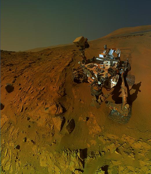 O Rover Curiosidade em Marte