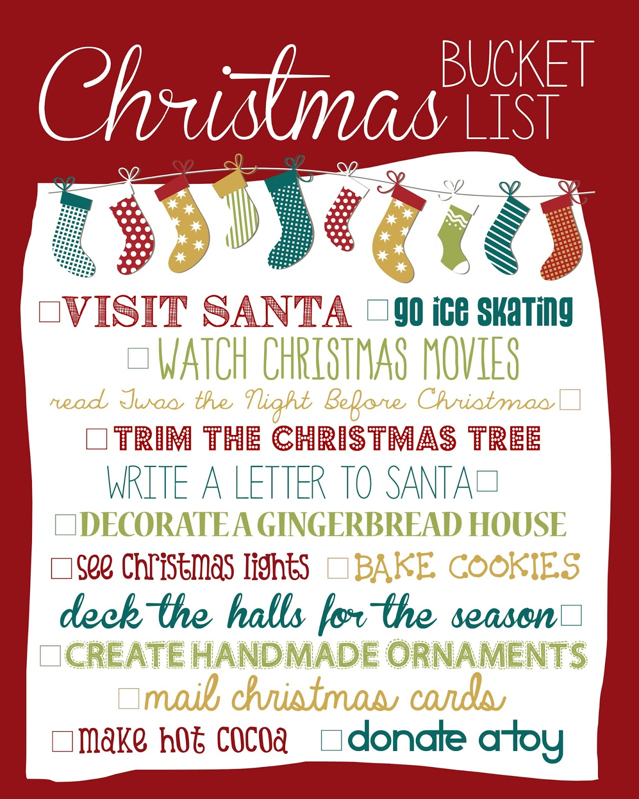 Christmas Wish List (or what we Wish Christmas was still like) | Fit ...