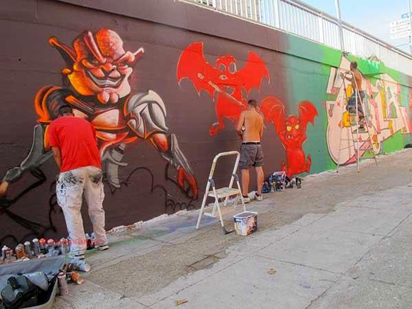 Graffitis Besós