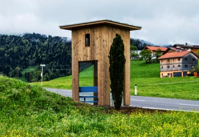 Seven International Architects Design Some Weird Bus Shelters For The