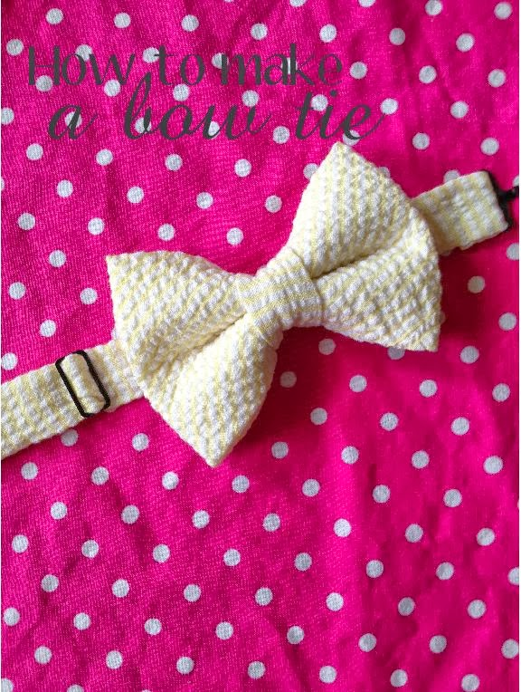 Coconut Love: How To Make A Pre-Tied Bow Tie For Babies and Kids