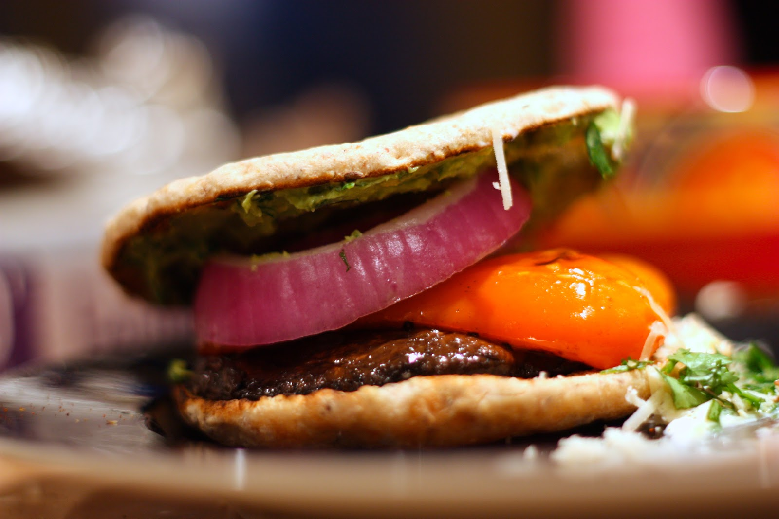 DOUGH-EYED GIRLS: Balsamic Marinated Portobello Burgers