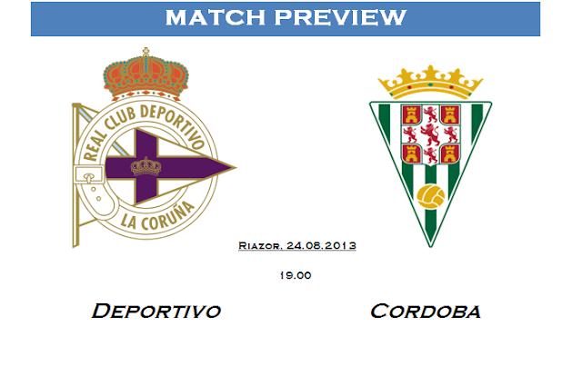 Deportivo la coruna - Cordoba - Match Preview