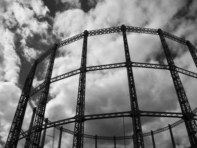 Gasometers Broadway Market Canal