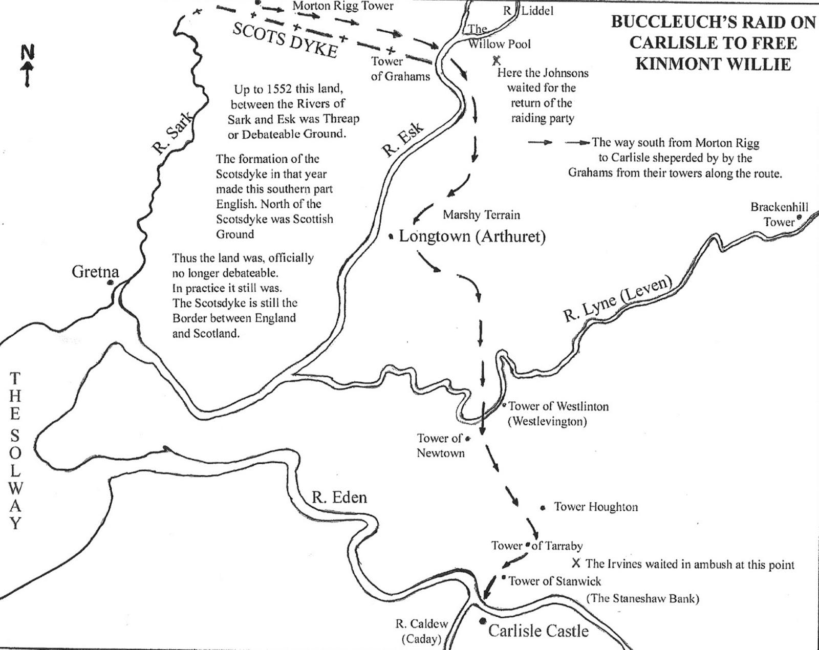 buccleuch s raid on carlisle
