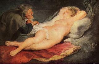Rubens, Angélique y el ermitaño, y el gran cronopio