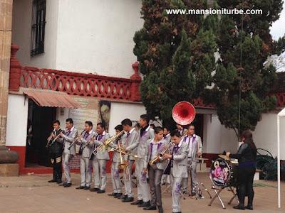 Música de Banda en honor de la Virgen de Guadalupe en Pátzcuaro