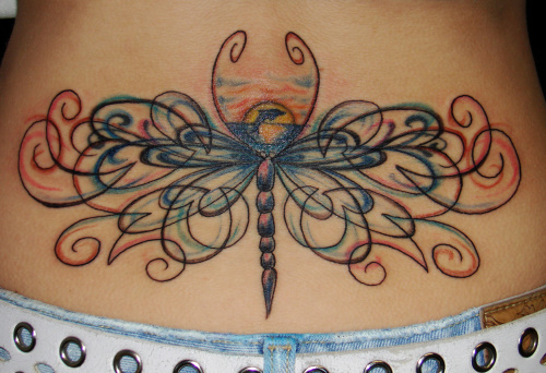 tattoo designs for lower back and hip heart tattoo designs for lower back