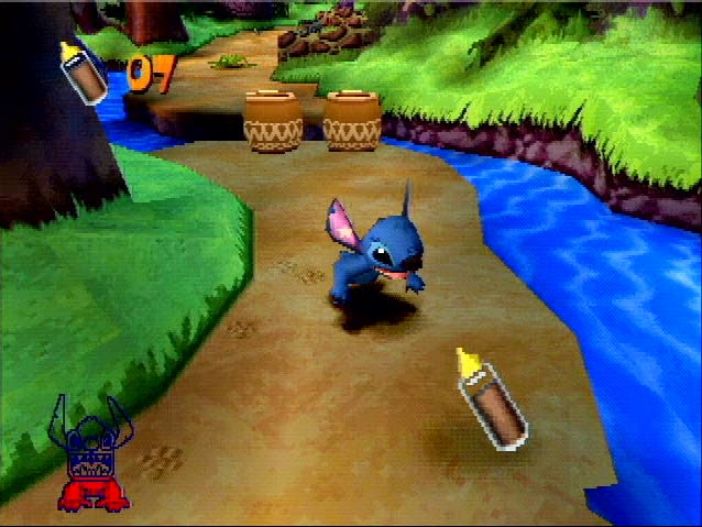 Game PS1 Lilo and Stitch
